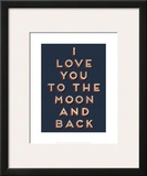 To the Moon and Back Posters