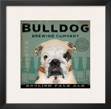 Bulldog Brewing Posters by Stephen Fowler