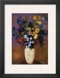Vase of Flowers, 1914 Print by Odilon Redon