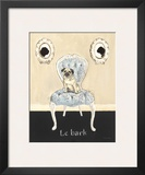 Le Bark Posters by Emily Adams