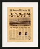 Flying Machine Takes to the Air! Posters