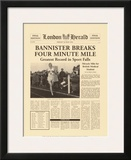 Four Minute Mile Print