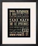 Dog Wisdom Prints