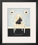 La Woof Prints by Emily Adams