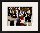 Labyrinth-Come Inside And Have A Nice Cup Of Tea Poster by Jim Henson