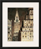 Manhattan Aglow Art by Paulo Romero