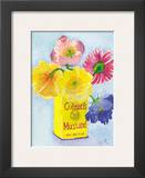 Flowers in a Yellow Can Posters by Robbin Gourley