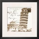 Vintage Pisa Prints by Carole Stevens
