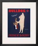 Bulldog French Bakery Posters by Ken Bailey
