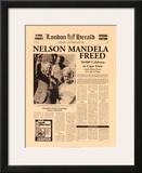 Nelson Mandela Freed Prints