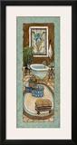 Baine de Blue II Posters by Charlene Olson