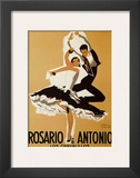 Rosario and Antonio, 1949 Prints by Paul Colin
