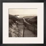 Dune Fence Prints by Christine Triebert
