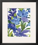 Periwinkle Border Beauty Poster by Martha Collins