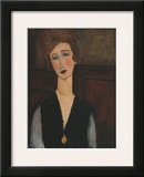 Portrait of a Woman, c.1918 Poster by Amedeo Modigliani