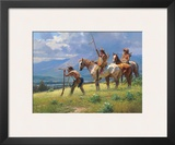 Dust In The Distance Posters by Martin Grelle
