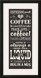 Coffee Lovers II Prints by Pela Studio