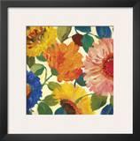 Passion Flowers I Prints by Kim Parker