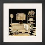 Maison Bath IV Prints by Charlene Winter Olson