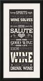 Wine Lovers II Prints by  Pela