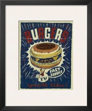 Burgers Prints by Joe Giannakopoulos