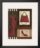 Fashion Collage I Print by Sophie Devereux