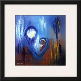 Icon of Love IV Prints by Roula Ayoub