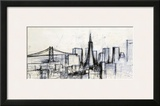 Today in San Francisco Prints by Checo Diego