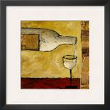 White Wine Poster by Judi Bagnato