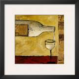 White Wine Poster by Judi Bagnato