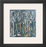The Jungle, 1943 Art by Wilfredo Lam