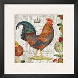 Rooster I Posters by Suzanne Nicoll