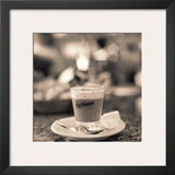 Caffe, Lucca Prints by Alan Blaustein