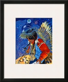 Celebration of Creation Framed Giclee Print by Georgia Lesley