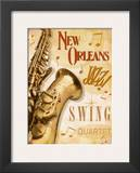 New Orleans Jazz II Posters by Pela Design