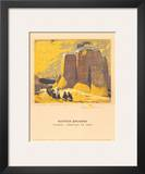 Church, Ranchos de Taos Print by Gustave Baumann
