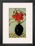 Swirling Poppies Posters by Karen Tusinski