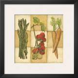 Fresh Veggies I Prints by Charlene Winter Olson