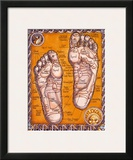 Reflexology Prints by Robert Rosenthal