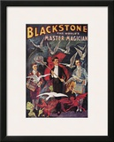 Blackstone, The World's Master Magician, 1920 Print