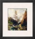 Mist in Kanab Canyon, Utah, 1892 Posters by Thomas Moran