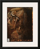 Warrior Female Prints by Fabienne Arietti