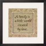 A  Family Prints by Karen Tribett