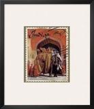 India Postal Prints by Kate Ward Thacker