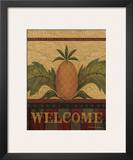Welcome Pineapple Poster by Warren Kimble