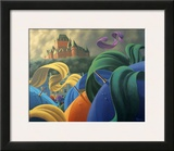 A Sudden Wind over Quebec Prints by Claude Theberge