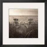 Beach Chairs Prints by Christine Triebert