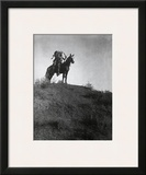 Ready for the Charge Art by Edward S. Curtis