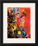 The Blues Prints by Romare Bearden
