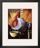 Retro Tea Prints by Michael L. Kungl